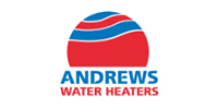 central heating and boiler Andrews Water Heaters logo